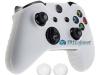 Capa Case Skin Xbox One X Microsoft Branco + Grip Cor