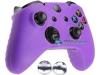 Capa Case Skin Xbox One X Microsoft Roxo + Grip Camo