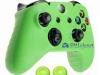 Capa Case Skin Xbox One X Microsoft Verde + Grip Cor