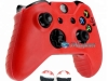 Capa Case Skin Xbox One X Microsoft Vermelho + Grip Camo