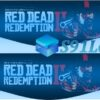 Light Bar Ps4 Skin Adesivo Controle Red Dead Redemption D277