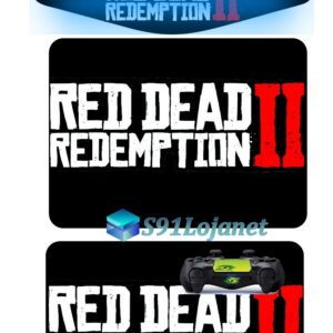 Touch Pad Ps4 Skin Adesivo Controle Red Dead Redemption D276