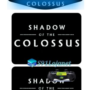Touch Pad Ps4 Skin Adesivo Controle Shadow Of Colossus D289