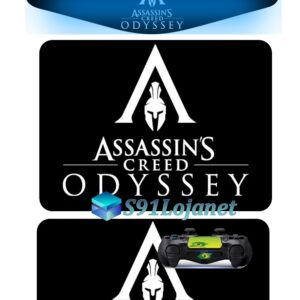 Touch Pad Ps4 Skin Adesivo Led Controle Assasin Creed D284