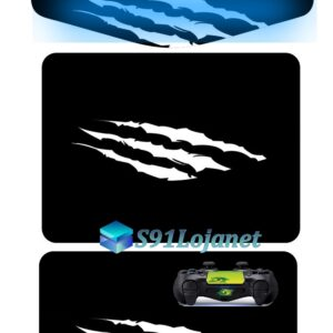 Touch Pad Ps4 Skin Decal Adesivo Led Controle Beast D118