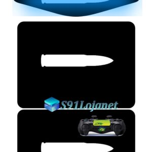 Touch Pad Ps4 Skin Decal Adesivo Led Controle Bullet D120
