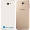 Galaxy J5 Prime Adesivo Skin Traseiro Carbono Branco