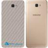 Galaxy J5 Prime Adesivo Skin Traseiro Carbono Cinza