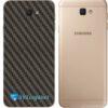 Galaxy J5 Prime Adesivo Skin Traseiro Carbono Preto