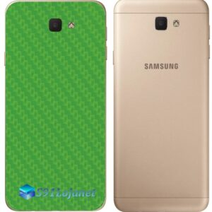 Galaxy J5 Prime Adesivo Skin Traseiro Carbono Verde