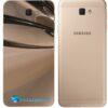 Galaxy J5 Prime Adesivo Skin Traseiro Metal Cromado