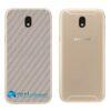 Galaxy J5 Pro Adesivo Skin Traseiro Carbono Cinza