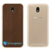 Galaxy J5 Pro Adesivo Skin Traseiro Metal Bronze