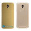Galaxy J5 Pro Adesivo Skin Traseiro Metal Ouro Gold