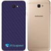 Galaxy J7 Prime Adesivo Skin Traseiro Carbono Preto