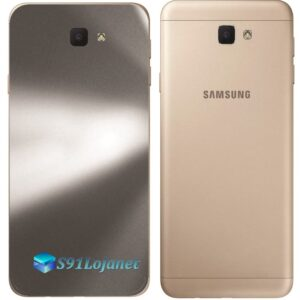 Galaxy J7 Prime Adesivo Skin Traseiro Metal Titânio