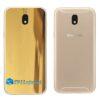 Galaxy J7 Pro Adesivo Skin Traseiro Metal Gold Ouro Cromo
