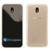 Galaxy J7 Pro Adesivo Skin Traseiro Preto Black Piano
