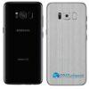 Galaxy S8 Adesivo Skin Metal Aluminio