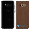 Galaxy S8 Adesivo Skin Metal Bronze
