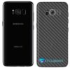 Galaxy S8 Plus Adesivo Skin Carbono Preto