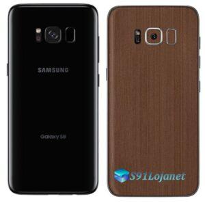 Galaxy S8 Plus Adesivo Skin Metal Bronze