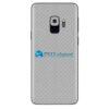 Galaxy S9 Adesivo Skin Carbono Cinza