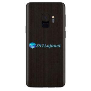 Galaxy S9 Adesivo Skin Metal Onyx