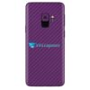 Galaxy S9 Plus Adesivo Skin Carbono Roxo