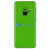 Galaxy S9 Plus Adesivo Skin Carbono Verde