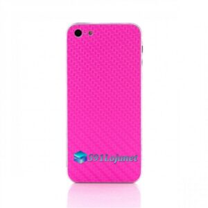 Iphone 5 5c 5s Skin Adesivo Sticker Carbono Rosa Pink