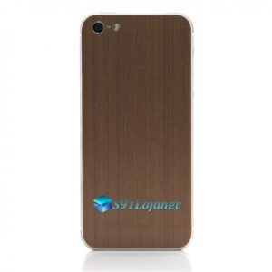 Iphone 5 5c 5s Skin Adesivo Sticker Metal Bronze