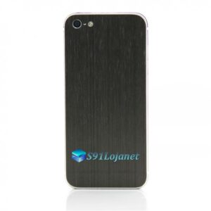 Iphone 5 5c 5s Skin Adesivo Sticker Metal Onix