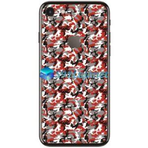 Iphone 8 8plus Skin Adesivo Sticker Camo Vermelho