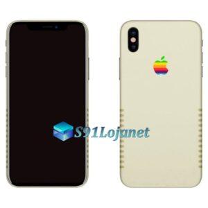 Iphone 8 8plus Skin Adesivo Sticker Retrô Apple