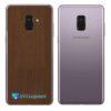 Samsung Galaxy A8 Adesivo Skin Meta Bronze