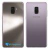 Samsung Galaxy A8 Adesivo Skin Meta Titânio