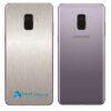 Samsung Galaxy A8 Plus Adesivo Skin Meta Aço escovado