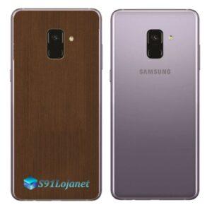 Samsung Galaxy A8 Plus Adesivo Skin Meta Bronze
