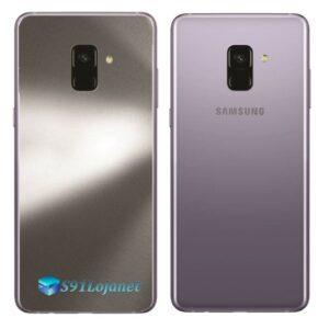 Samsung Galaxy A8 Plus Adesivo Skin Meta Titânio