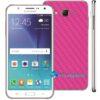 Samsung Galaxy J7 Adesivo Skin Carbono Rosa