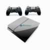 Skin PS4 Fat Playstation 4 Original Brilho Preto Black Piano