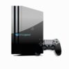 Skin PS4 Pro Playstation 4 Original Brilho Preto Black Piano