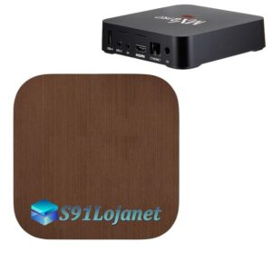 TV Box 4k Adesivo Skin Decal Sticker Metal Bronze
