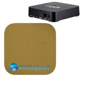 TV Box 4k Adesivo Skin Decal Sticker Metal Ouro Gold