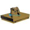Xbox One X Skin Adesivo Metal Gold Ouro