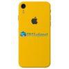 iPhone XR Adesivo Skin Carbono Amarelo