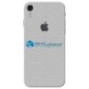 iPhone XR Adesivo Skin Carbono Cinza