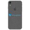 iPhone XR Adesivo Skin Carbono Preto Negro