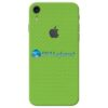 iPhone XR Adesivo Skin Carbono Verde